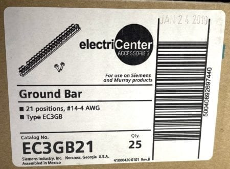 electriCenter EC3GB21x25-NIB