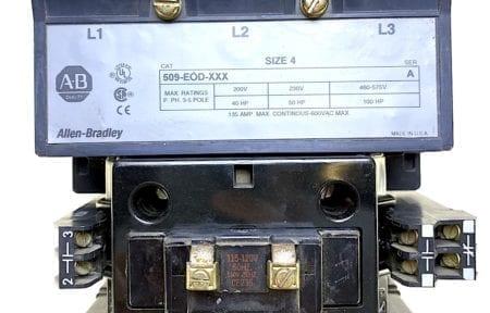 Allen Bradley 509-EOD-XXX