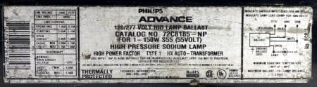 Philips Advance 72C8185-NP