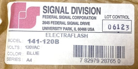 Signal Division 141-120B
