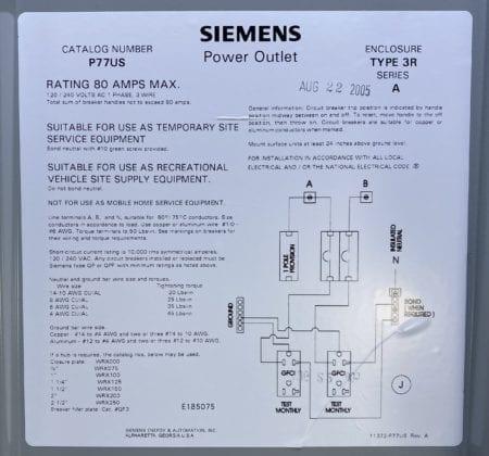Siemens P77US-NOB
