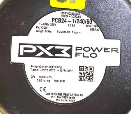 Power Flo PCB24-1/240/60-NIB