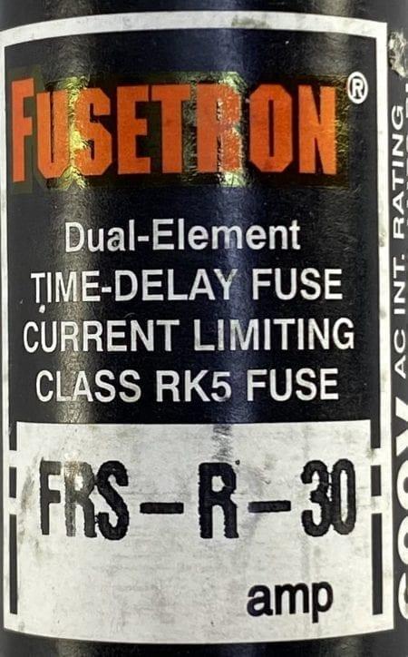 Fusetron FRS-R-30-9-NIB