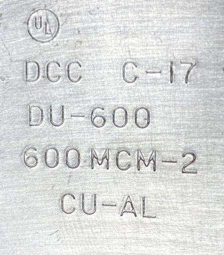 Ilsco DU-600/RU-600-3