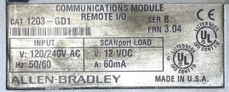 Allen Bradley 1203-GD1
