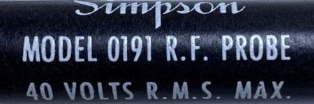Simpson 0191-NIB