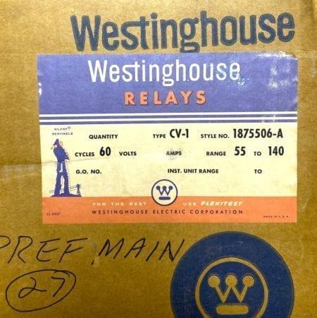 Westinghouse 1875506-A-NIB