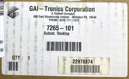 GAI-Tronics 7265-101-NIB