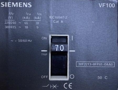 Siemens 3VF2213-0FP41-0AA0-NIB