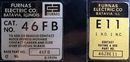 Furnas 46FBE11-NIB