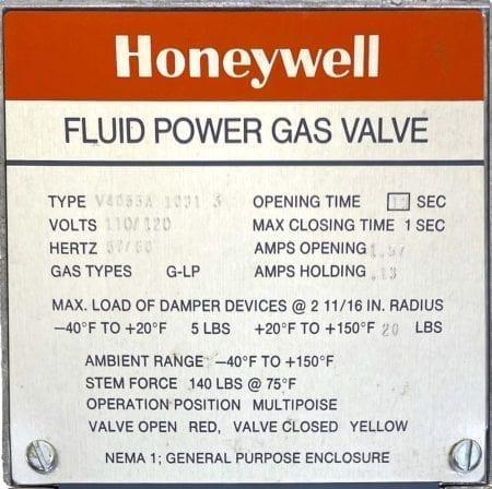 Honeywell V4055A1031-NIB
