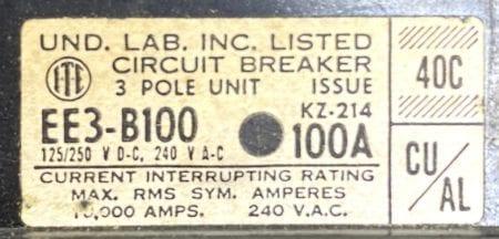 ITE Siemens EE3-B100
