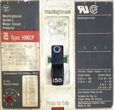 Westinghouse HMCP150T4