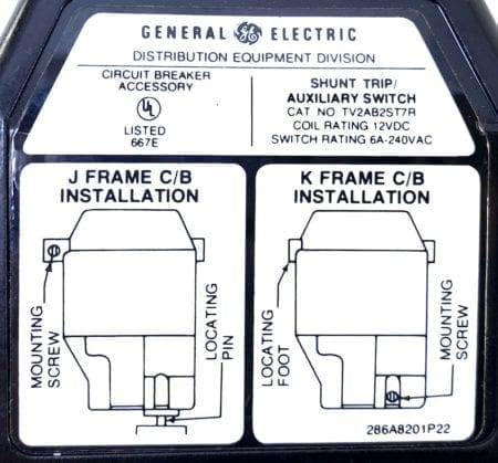General Electric TV2AB2ST7R