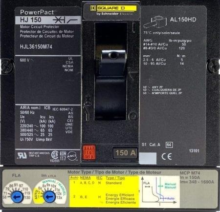 Square D HJL36150M74-NIB