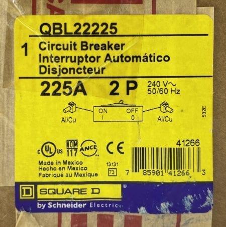 Square D QBL22225-NIB