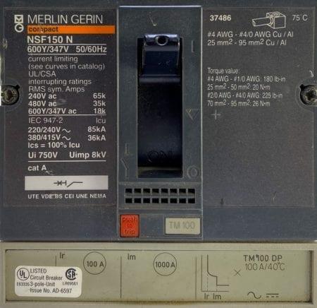 Merlin Gerin NSF150N