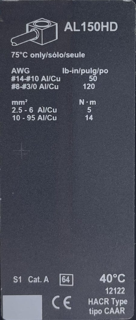 Square D HGL26015-NIB