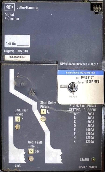 Cutler Hammer RD316T35W-NML
