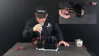 Bench Testing a Nema Size 4 Motor Starter