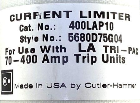 Cutler Hammer 400LAP10-1