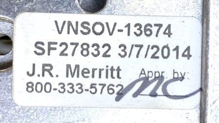 J.W. Merritt VNSOV-13674-CABLE