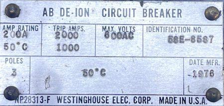 Westinghouse HKA3200
