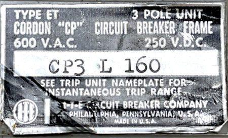 Cordon CP3L160
