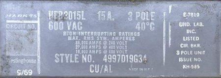 Westinghouse HFB3015L