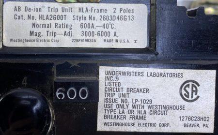 Westinghouse HLA2600T