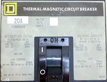 Square D FCB34020-GL