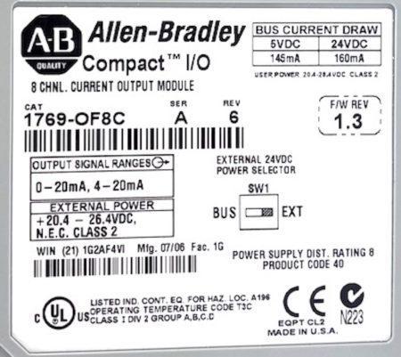 Allen Bradley 1769-OF8C