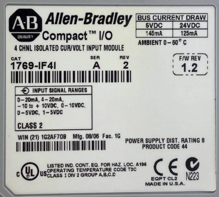 Allen Bradley 1769-IF4I