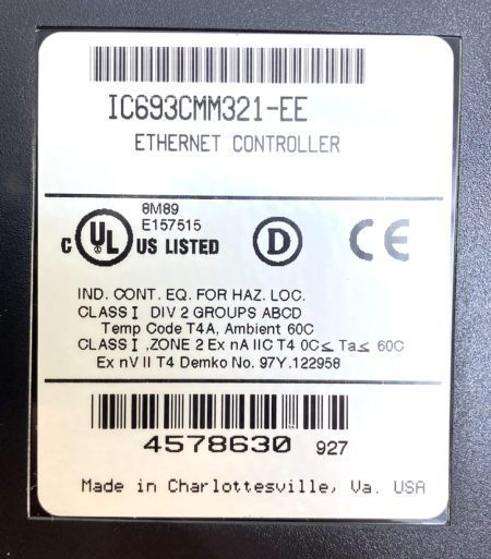 General Electric IC693CMM321-EE