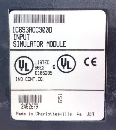 General Electric IC693ACC300D