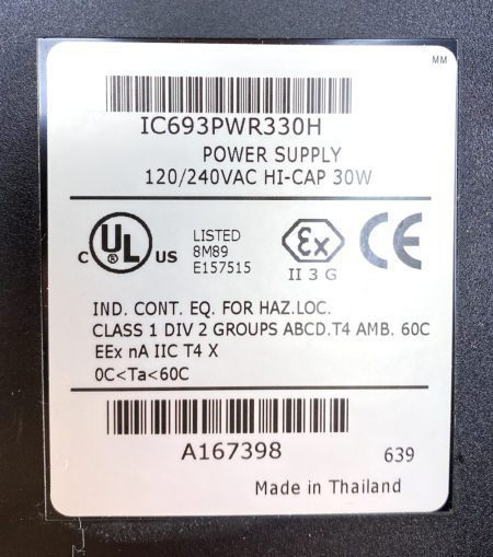 General Electric IC693PWR330H-CABLE