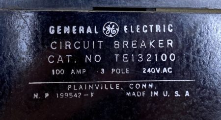 General Electric TE132100-BF