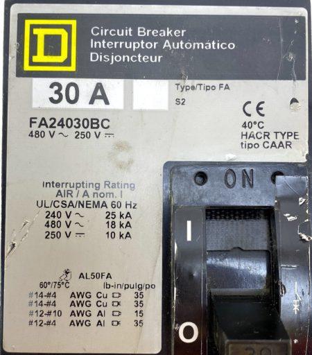 Square D FA24030BC-GL