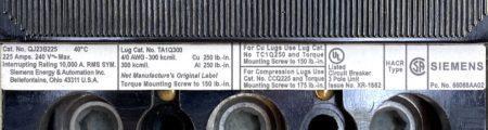 ITE Siemens QJ23B225-NML