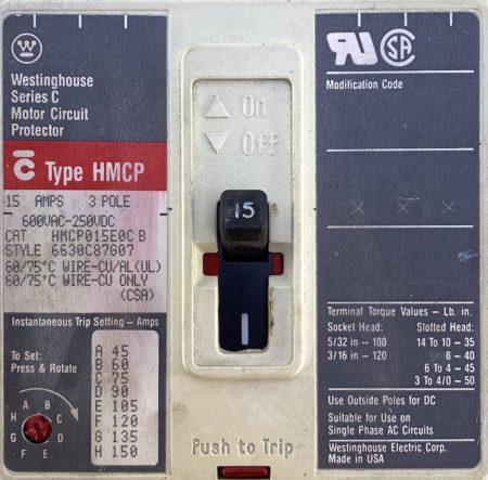 Cutler Hammer HMCP015E0C-AUX