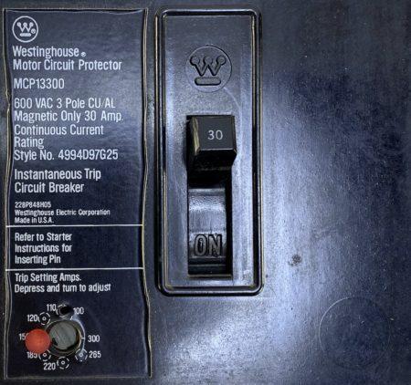 Westinghouse MCP13300