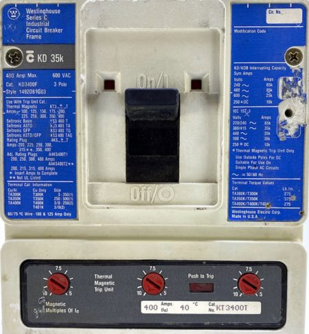 Westinghouse KD3400F-BL-400