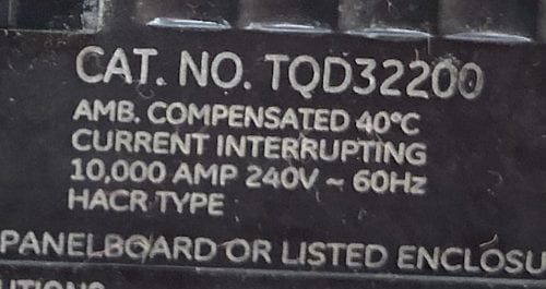 General Electric TQD32200