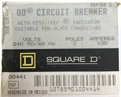 Square D QO3100-NIB