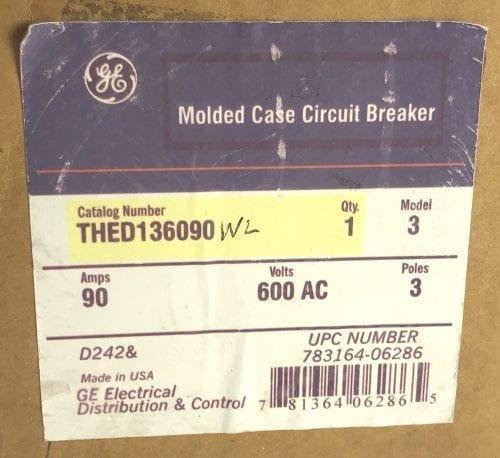 General Electric THED136090WL-NIB
