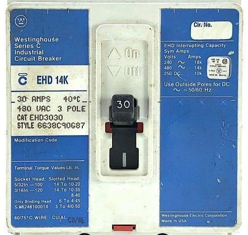 Cutler Hammer EHD3030