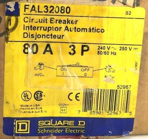 Square D FAL32080-NIB