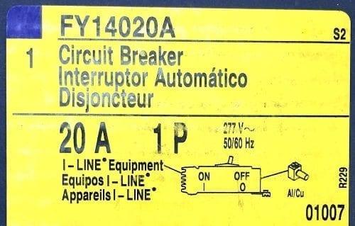 Square D FY14020A-NIB