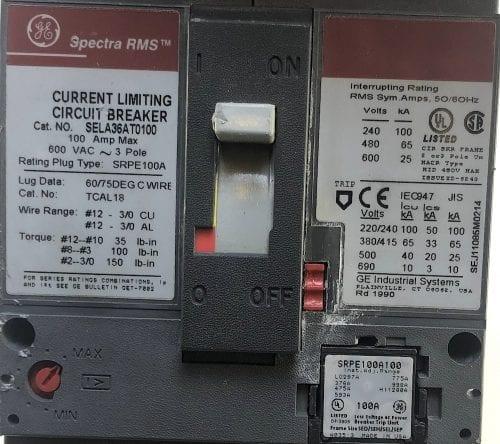 General Electric SELA36AT0100-100