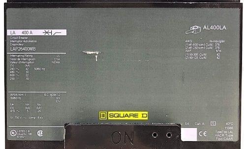 Square D LAP26400MB